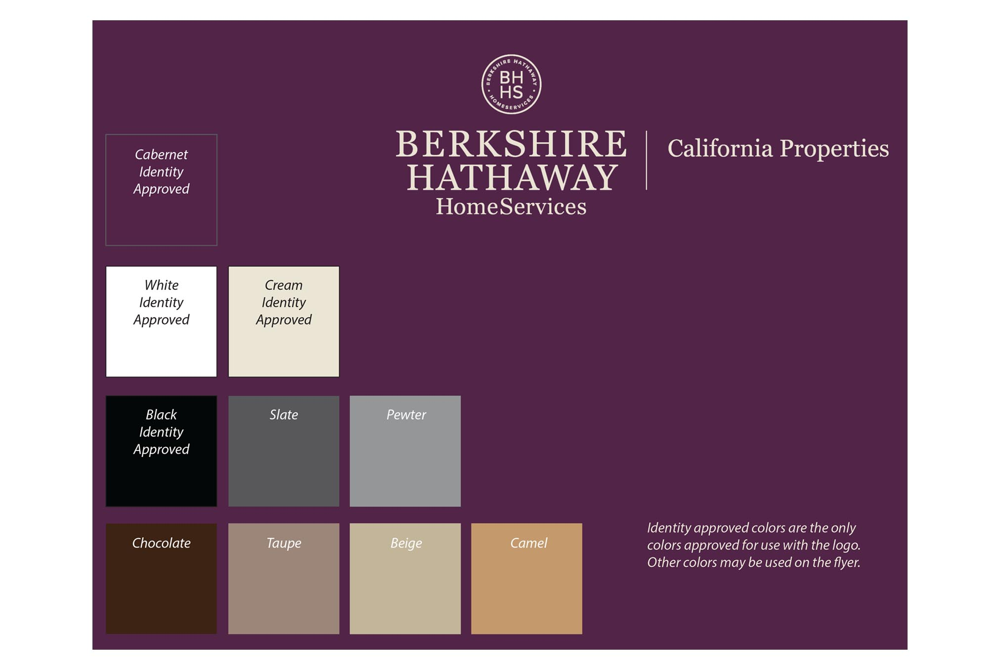 berkshire hathaway home services rebranding collateral | michelle
